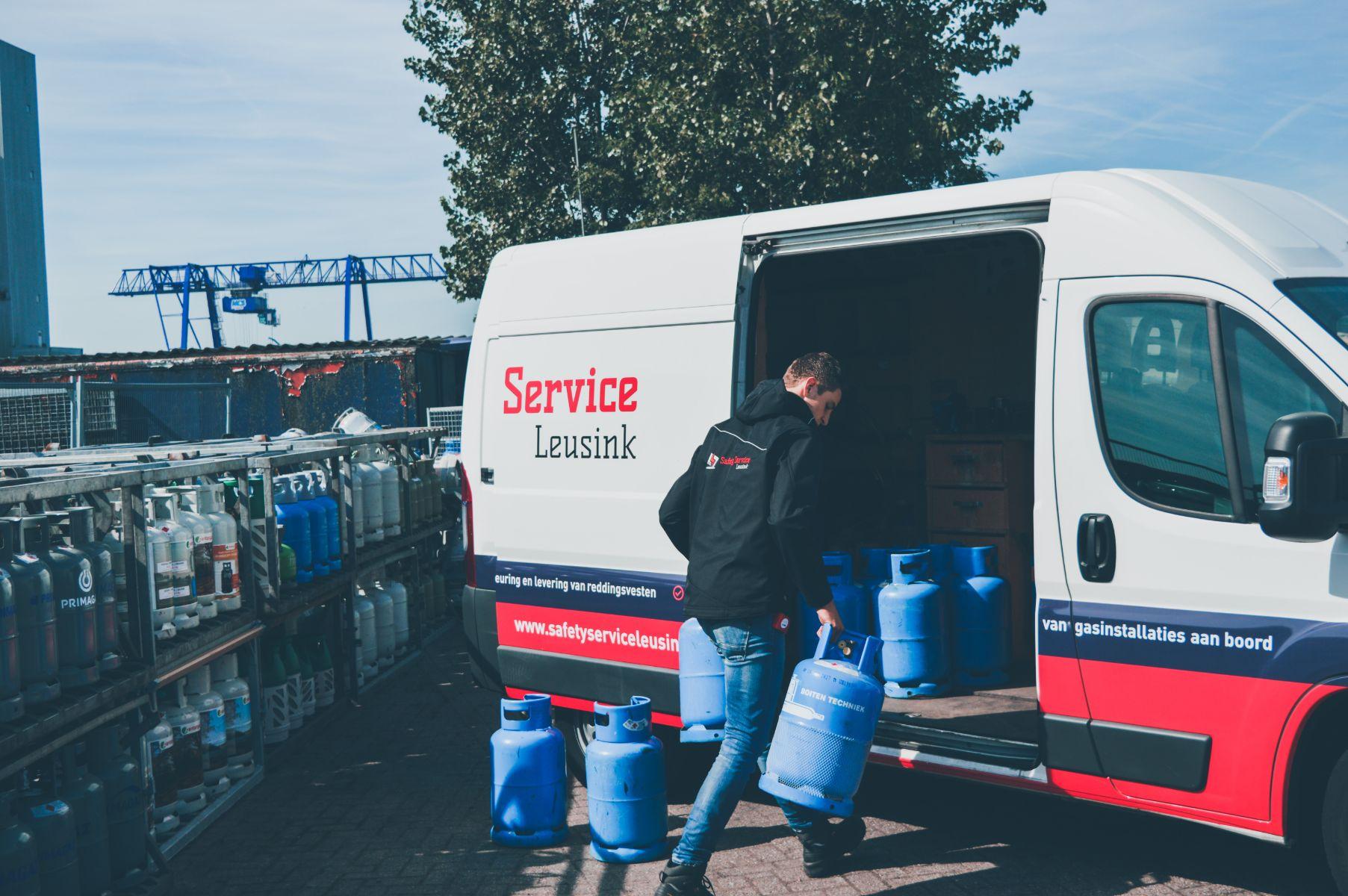 Gasfles vullen Steenwijk