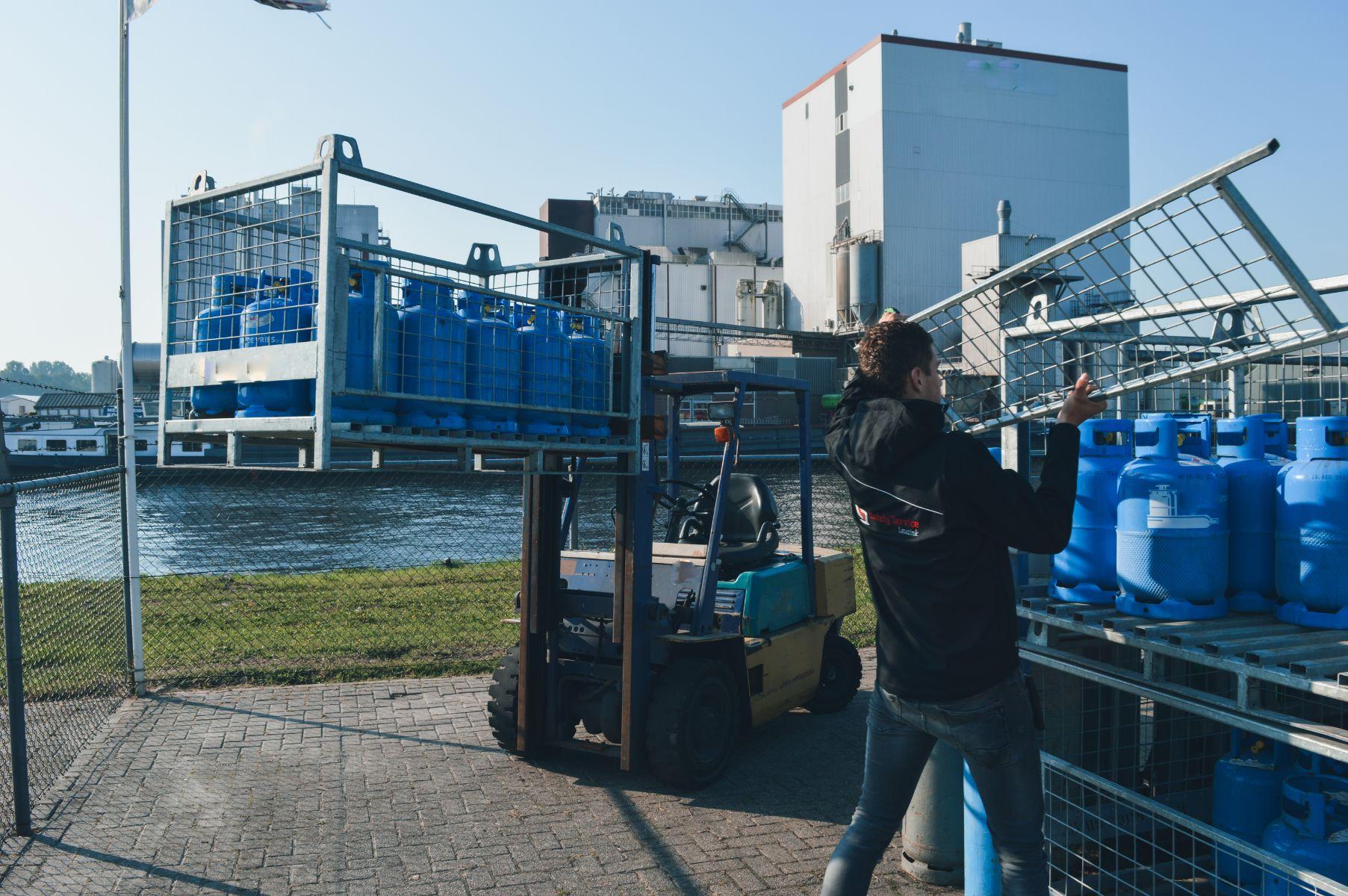 Gasfles omruilen Steenwijk
